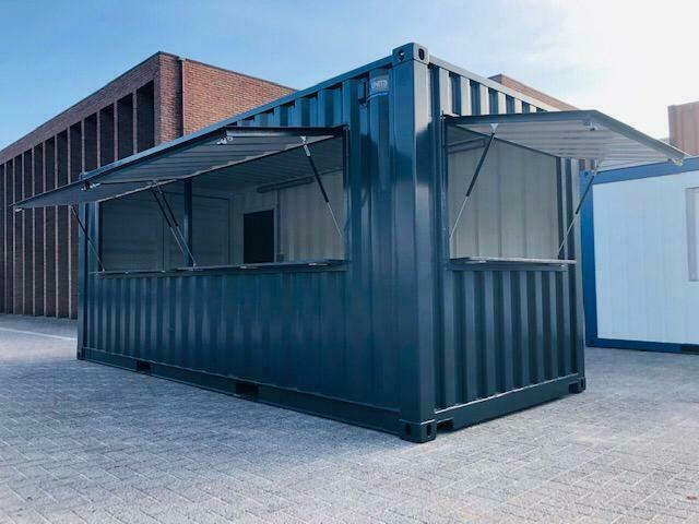 barcontainer terras partytent festival Pop-Up Foodtruck