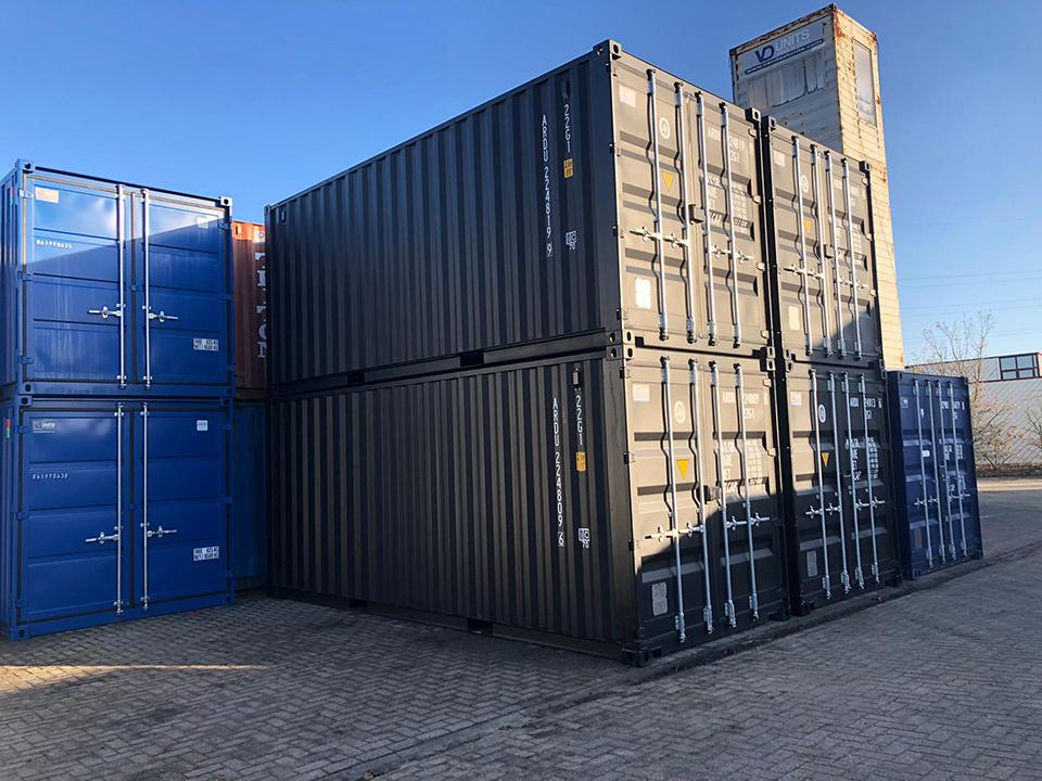 Omgebouwde/Ingerichte 20ft zeecontainer
